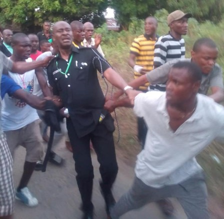 Police Commissioner Reveals How He Escaped Beheading From Mob (Photos)