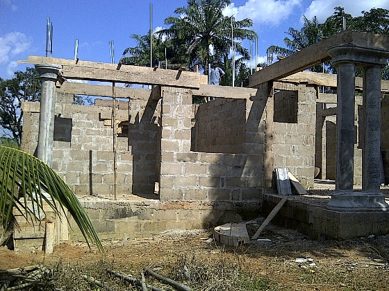 Parapet Roofing Support Building In Ebonyi State