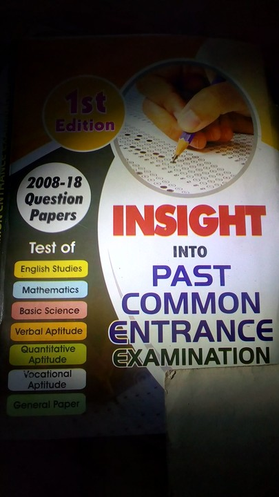 National Common Entrance Examination Results 2019/2020 Is