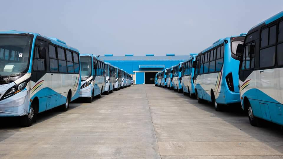 Lagos State Government Has Taken Delivery Of New BRT Buses With Awesome Specs