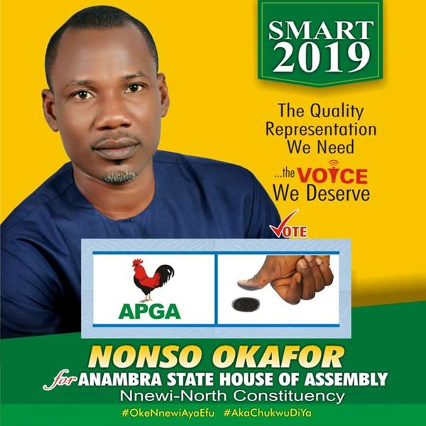 Meet APGA Candidate Who Won Because He Was Insulted That His Mother Sells Akara