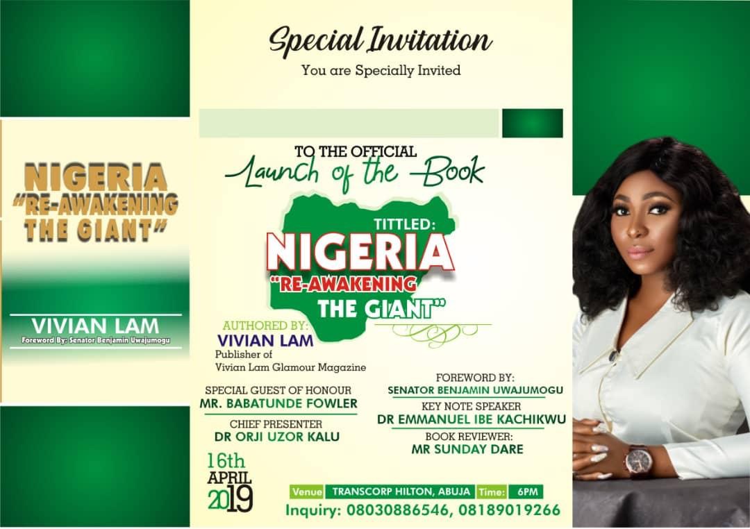 Image result for Book on ' Nigeria-Reawakening the Giants' launched in Abuja