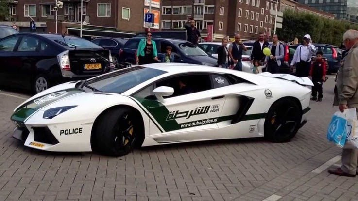 The Dubai Police Force Has The Largest Collection Of Luxury