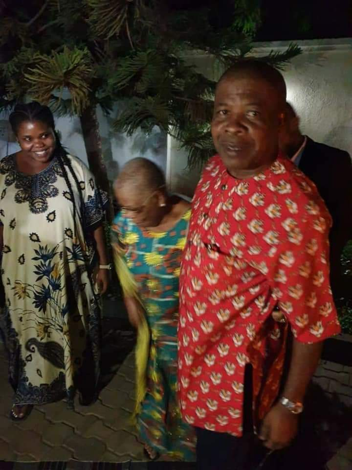Imo State Governor-Elect, Emeka Ihedioha Received By His Aged Mother