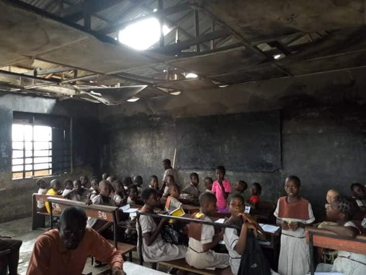 Sapele Schoolgirl, Success School, Okotie-Eboh Primary School Undergoing Renovations