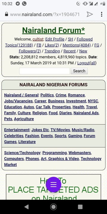 Www nairaland general