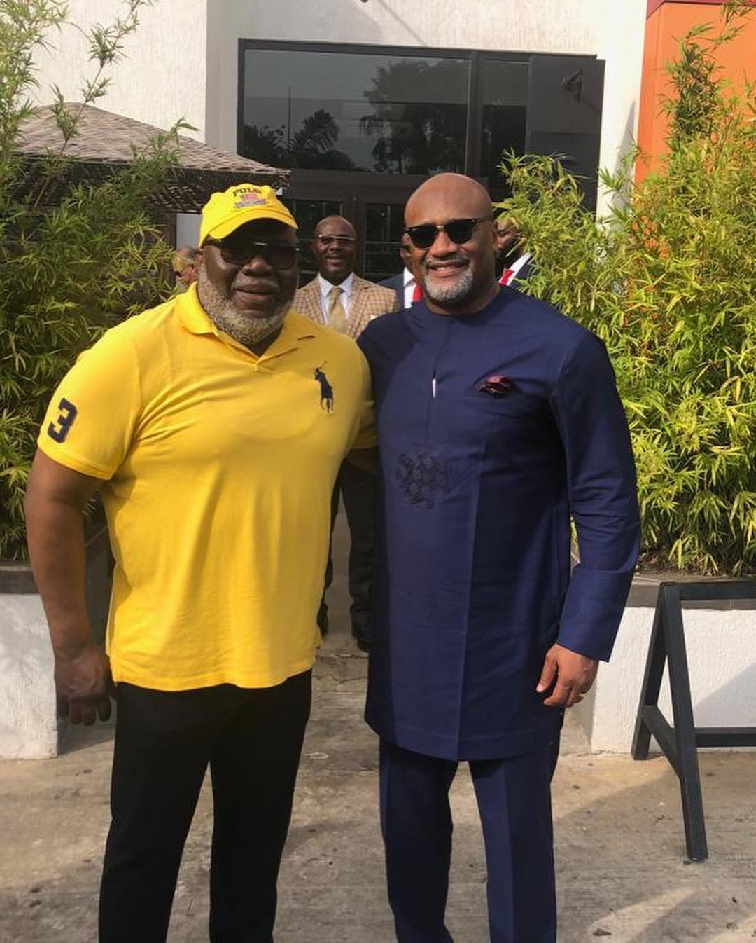 Pastor Paul Adefarasin And TD Jakes Pictured Together