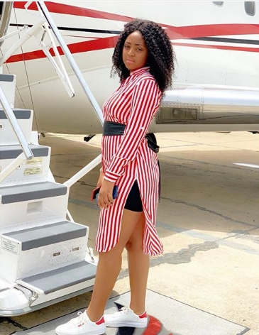 Image result for Actress Regina Daniels Jets Out To Dubai In Style