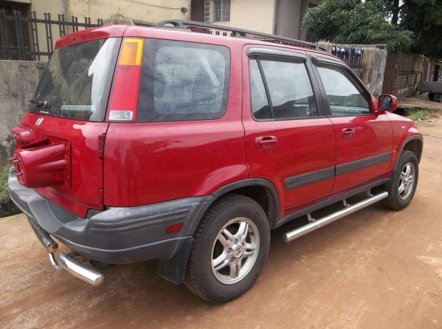 sold 2000 honda crv ex red cute autos 1 nigeria. Black Bedroom Furniture Sets. Home Design Ideas