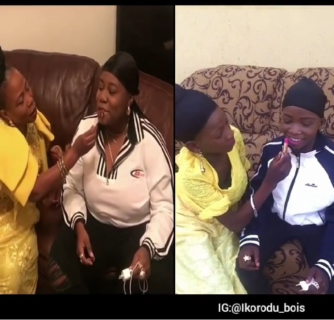 Ikorodu Boys ReWorks Teni's Makeup Video With Her Mother (Pics)