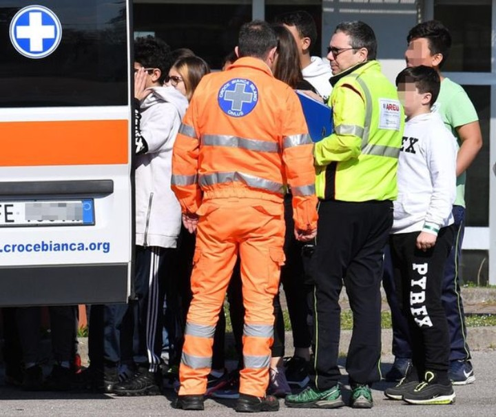 Eight Students Are Injured When Two Classmates Open Fire: Senegalese Man Hijacks School Bus In Italy, Sets It Ablaze