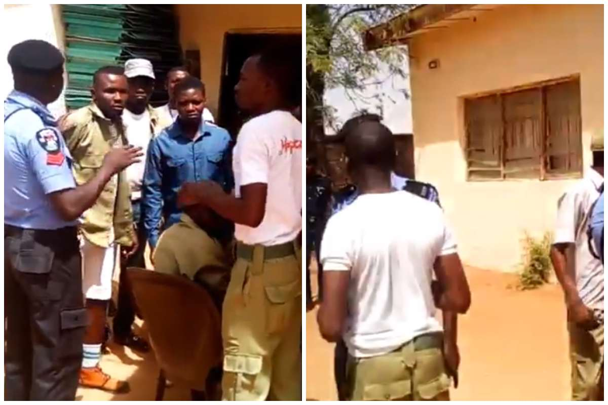 Corpers In Sokoto Protest Non-Payment Of INEC Allowances