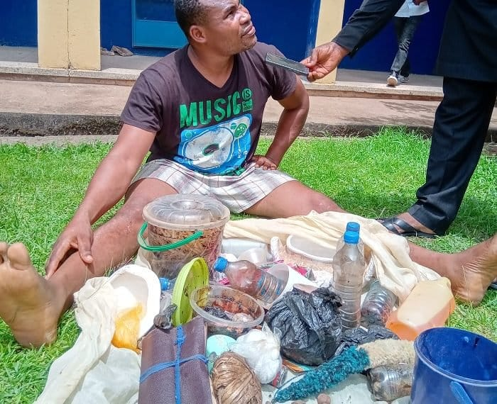 Charms Recovered At Pastor's House After Impregnating Girl In Benin