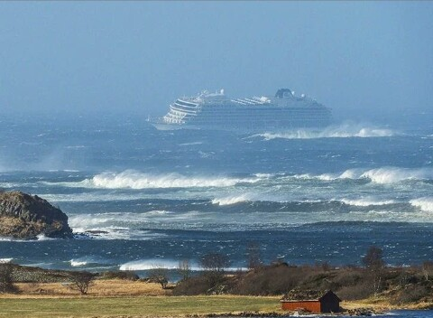 Over 800 People Trapped In Cruise Ship Chaos In Norway (Photos)