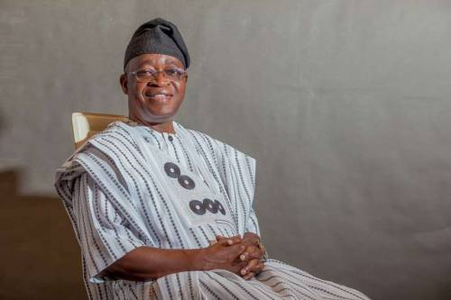 """I Remain Governor Of Osun State"" - Gboyega Oyetola"