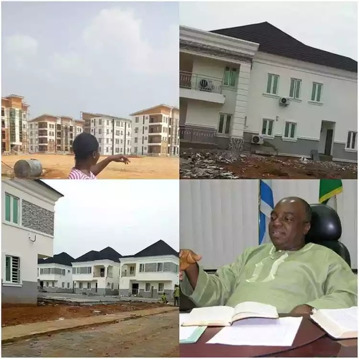 Pastor Oyedepo Opens His Mega Real Estate Housing Project (Photos)