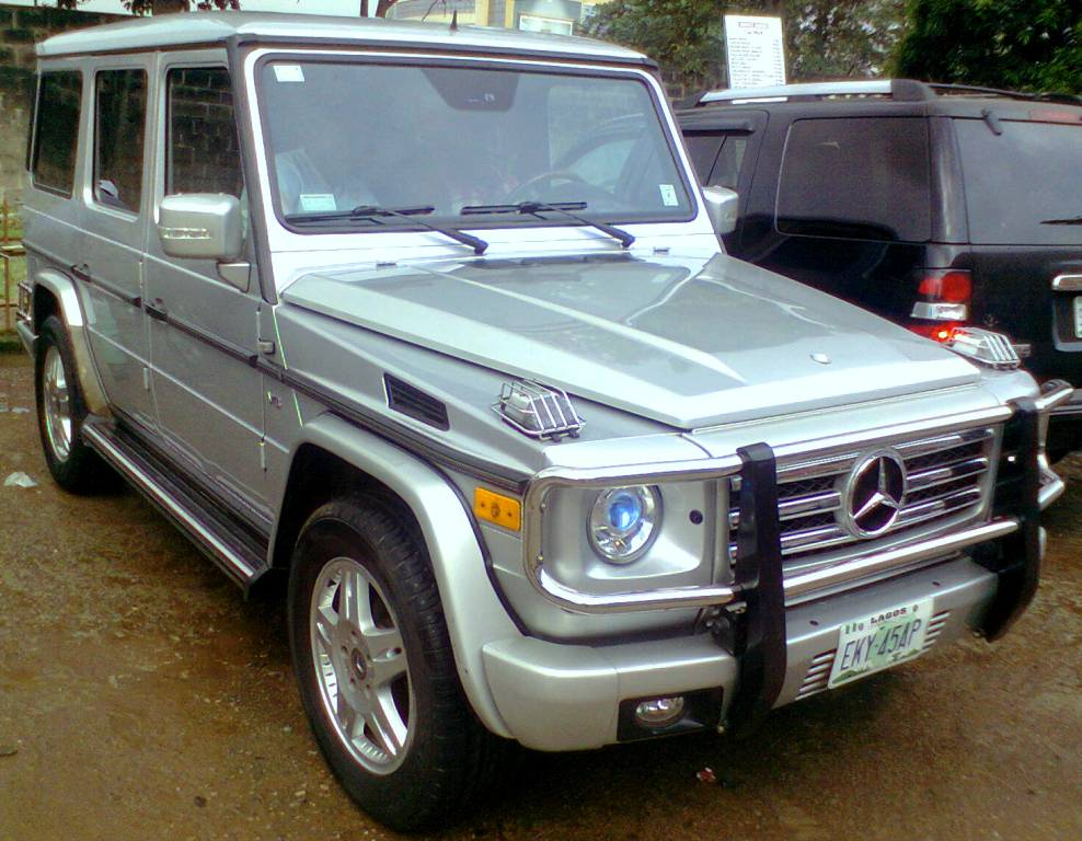 Mercedes benz g wagon g500 for a slightly lower for Mercedes benz g wagon price