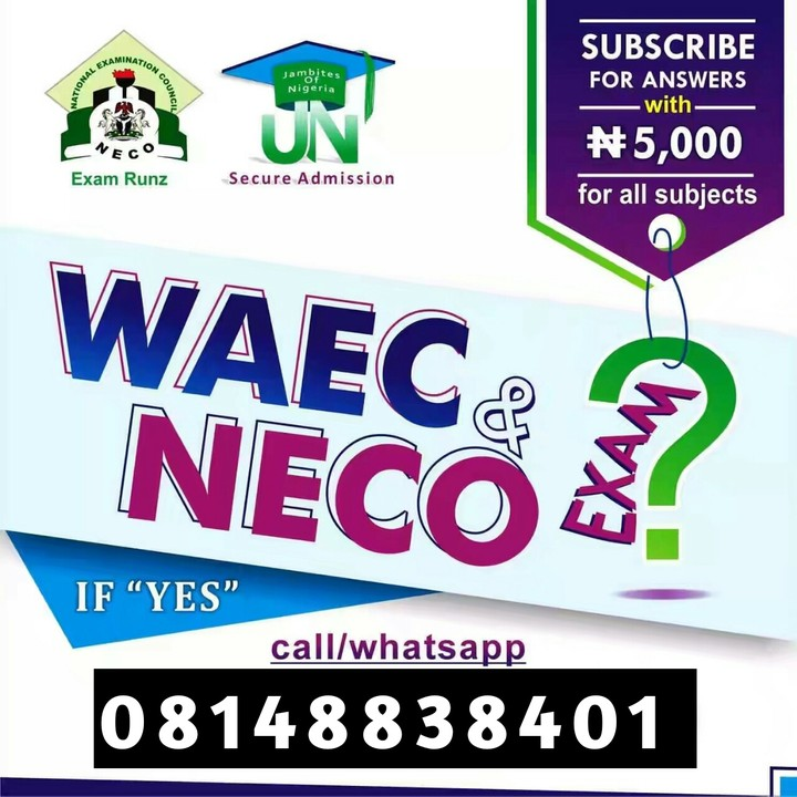 2019 Waec Questions And Answers | 2019 Waec Expo - Education - Nigeria
