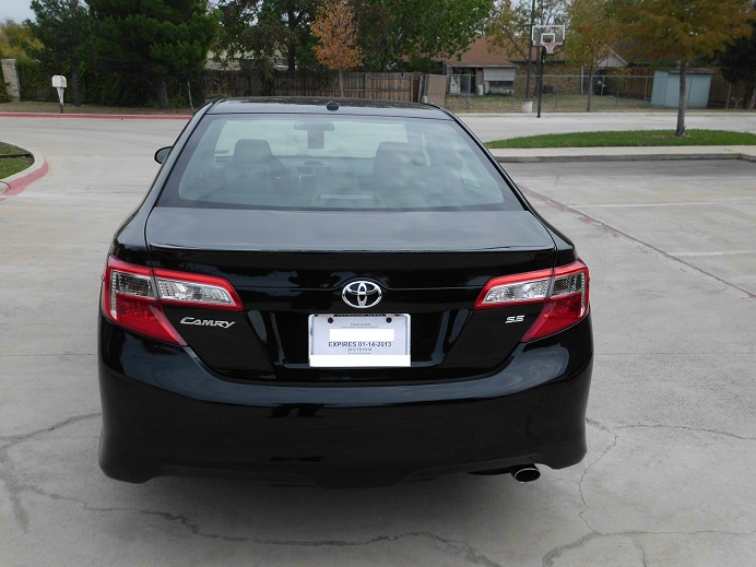 2012 toyota camry se limited edition autos nigeria. Black Bedroom Furniture Sets. Home Design Ideas
