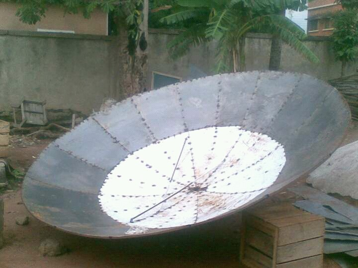 "(diy) Design And Fabricate Your Own Satellite Dish Of ""all ..."