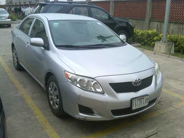 registered toyota corolla 2009 model for sale autos nigeria. Black Bedroom Furniture Sets. Home Design Ideas