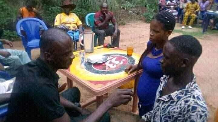 Young Lady Got Pregnant After Sleeping With A Small Boy, See What is going on