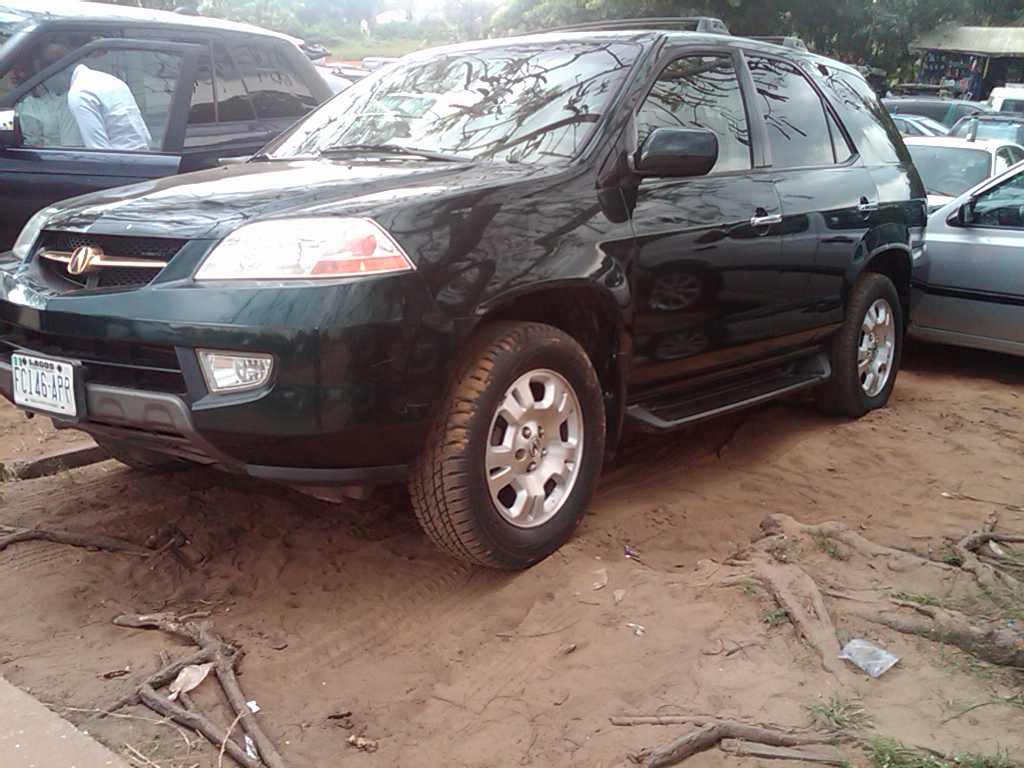 2003 acura mdx registered for sale super clean and cheap autos nigeria. Black Bedroom Furniture Sets. Home Design Ideas