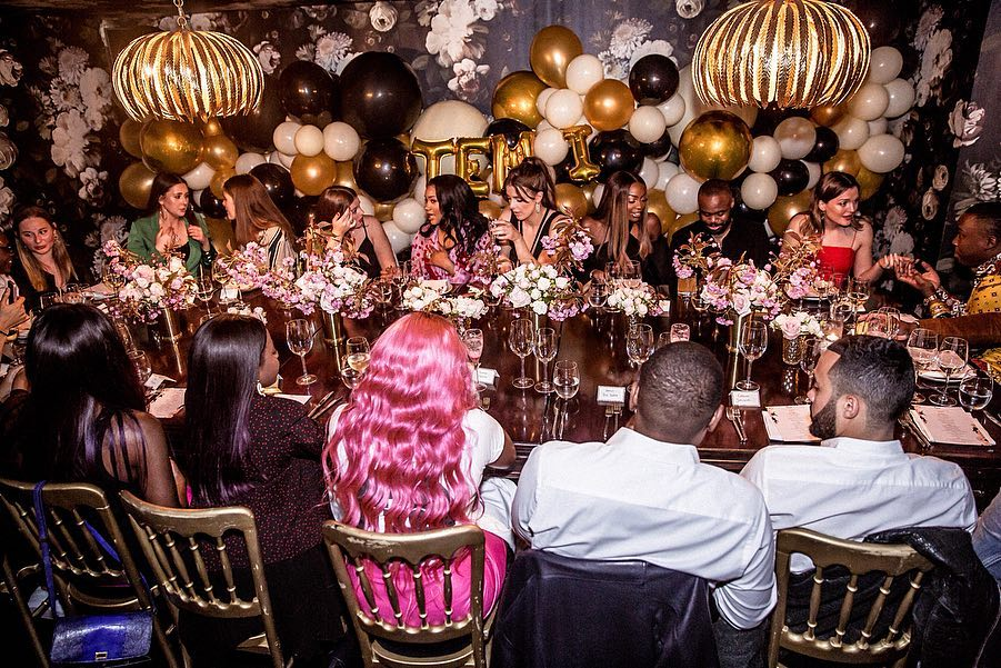 Stunning Pictures From Temi Otedola's Belated Birthday Celebration