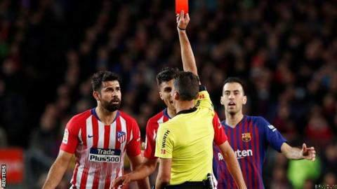 Diego Costa Handed 8-Match Ban After Red Card