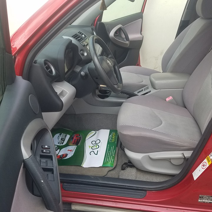 Tin-can Cleared 2008 Toyota Rav4 Red Color