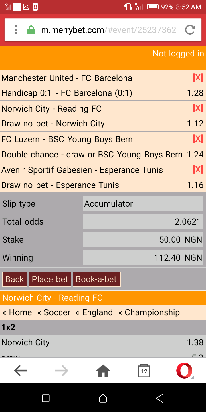 Sure Daily 2/3 Odds(oddslors1) - Sports (2) - Nigeria