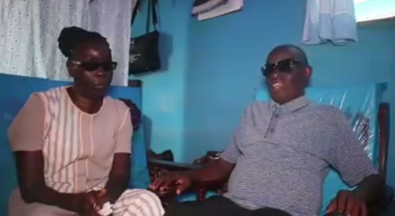 Blind Couple Who Have Been Married For 40 Years Tell Their Love