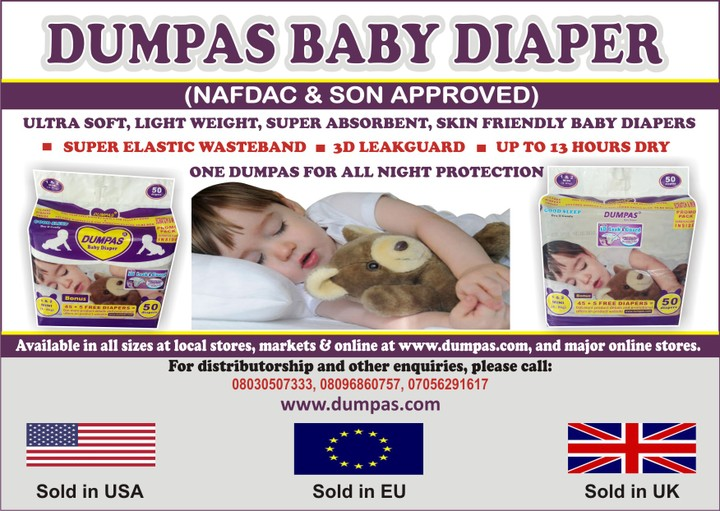 Distributors Wanted For Unac Baby Diapers And Products ...
