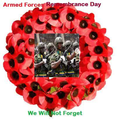 Today Is Nigerian Armed Forces Remembrance Day (2017).