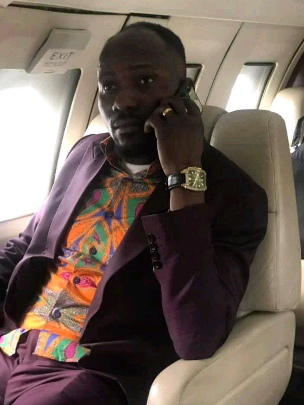 Omega Fire Ministries Dubai Confirms Apostle Suleman's Private Jet