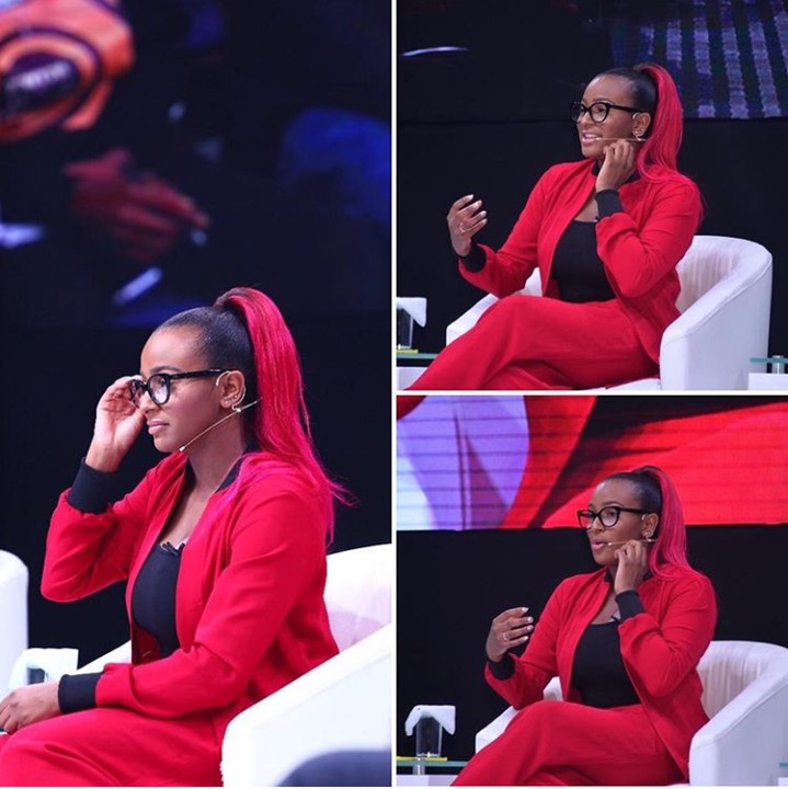 DJ Cuppy Spotted At Neclive7 Awards