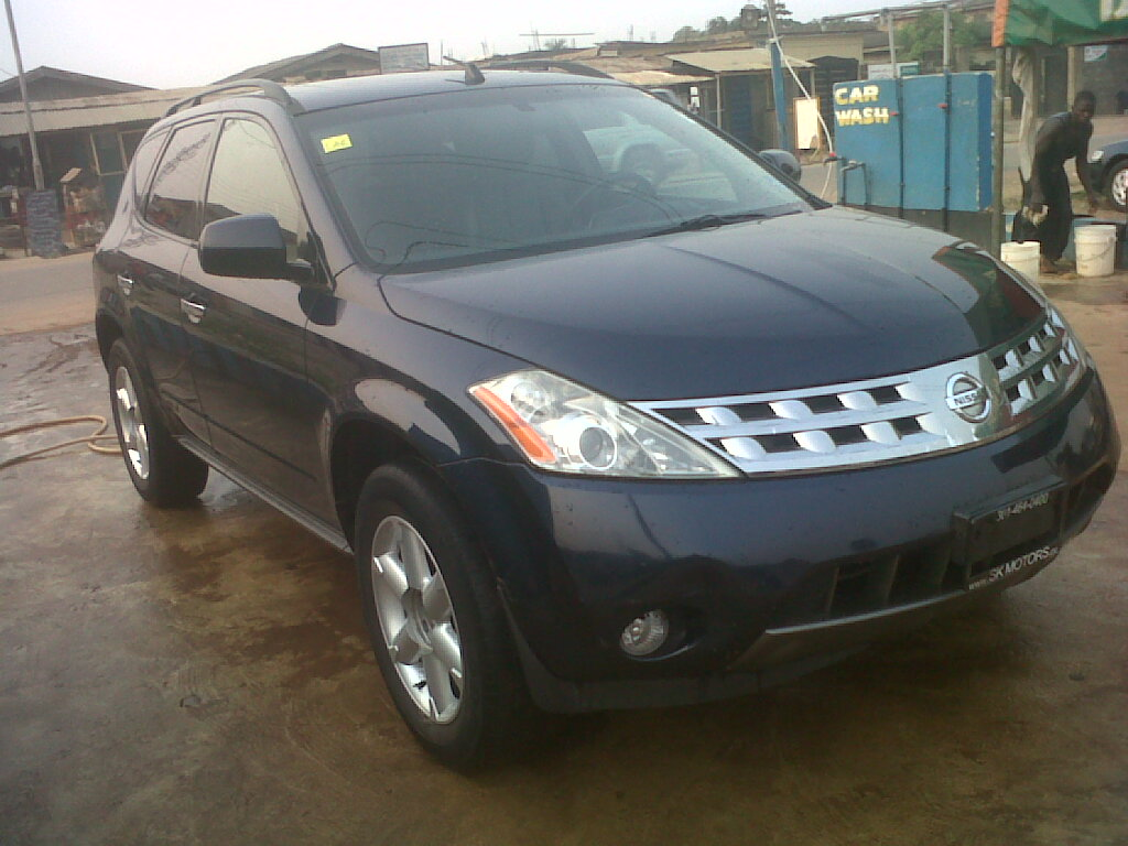a kokunbo nissan murano for sale 2004 model autos nigeria. Black Bedroom Furniture Sets. Home Design Ideas