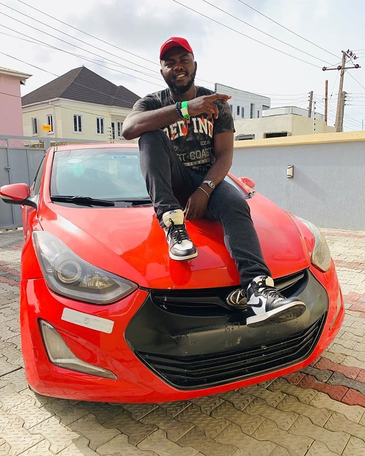 Nigerian Rapper Zlatan Ibile Gifts Manager A Car On His