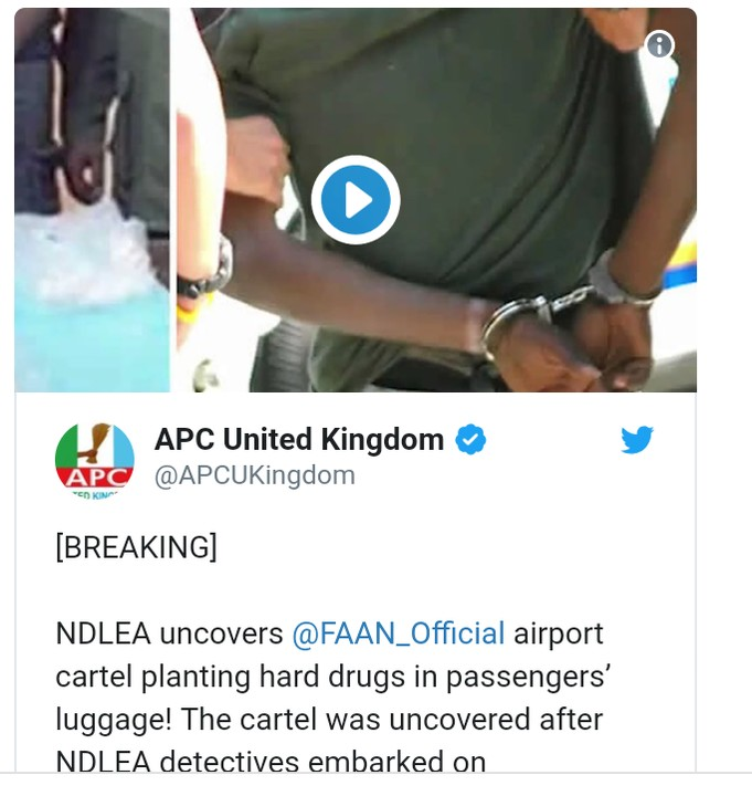 7 Kano Airport Officials Who Plant Drugs On Passengers' Luggage Caught