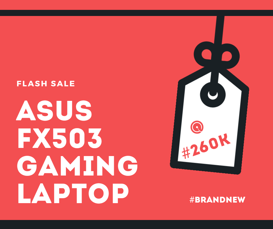 Asus FX503 I5, Gtx 1060 VR ready, 1tb + 128ssd Only #SoldOut