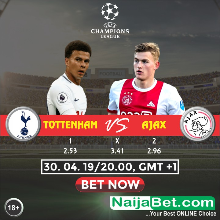 Lucas Moura All Cards: Champions League Match Preview: Tottenham Vs Ajax