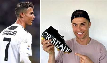 Cristiano Ronaldo Shows Off CR7 Boots After 600th Career Goal (Photos)