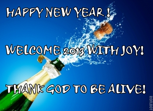 happy new year 2013 with thanks to god nairaland general nairaland