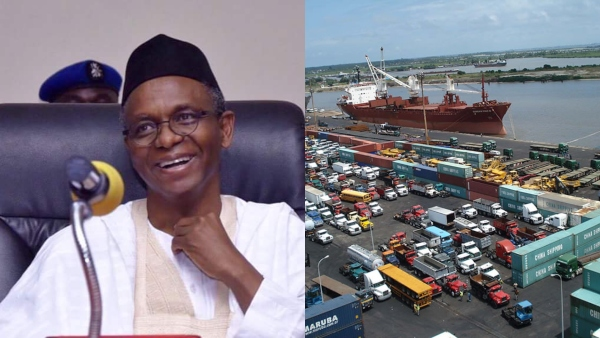 Image result for I'll tell Niger to use Kaduna port, not Lagos – El-Rufai