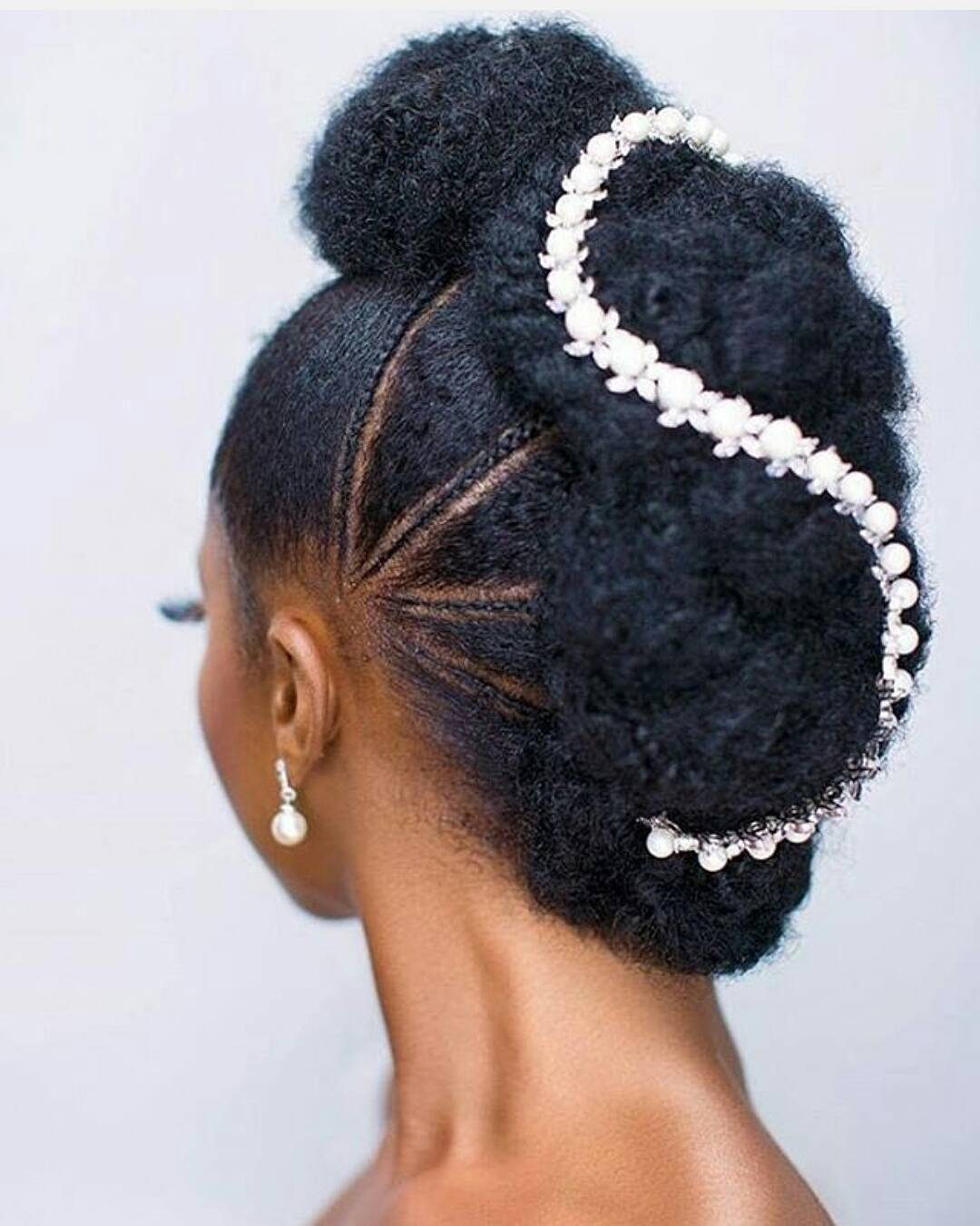Ladies Hair Style Wedding: Stunning Bridal Hair Styles For Natural Hair