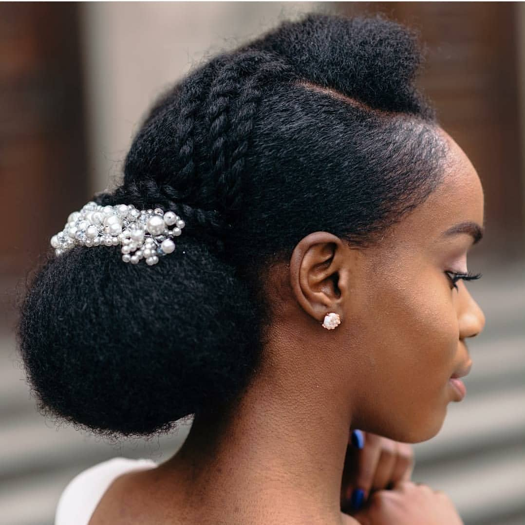 Nigeria Wedding Hair Style: Stunning Bridal Hair Styles For Natural Hair