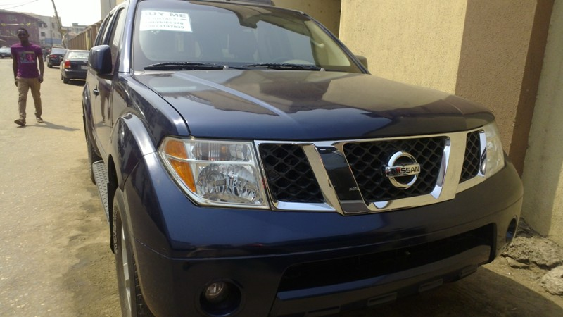 2011 honda accord 2008 nissan pathfinder toks 3million autos nigeria. Black Bedroom Furniture Sets. Home Design Ideas
