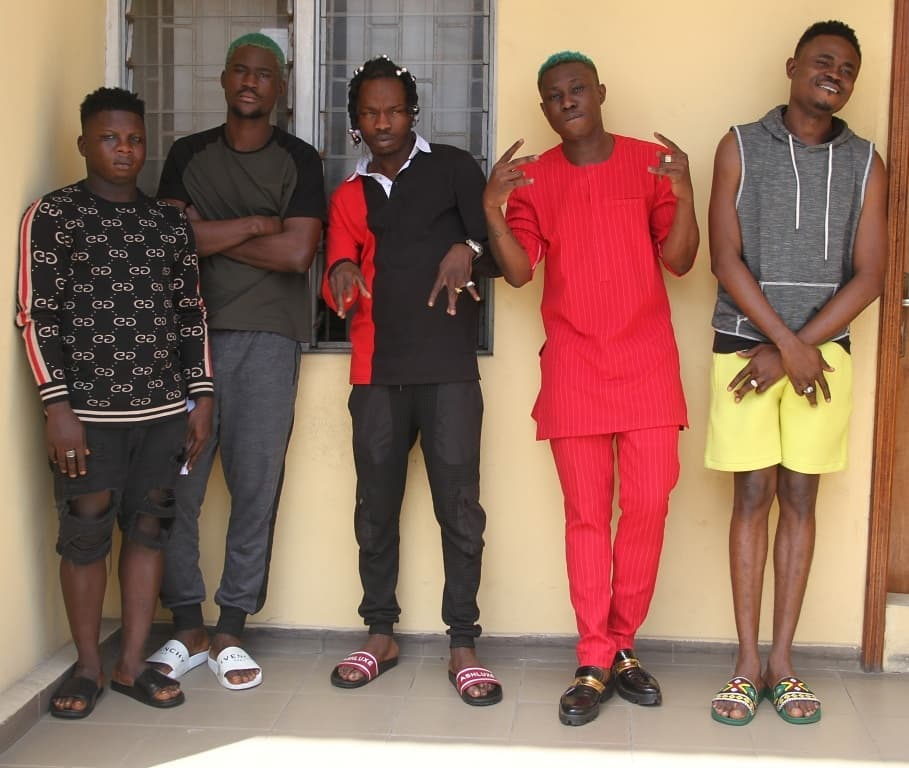 EFCC Parades Naira Marley, Zlatan Ibile Over Yahoo Fraud, Releases Photos & Statement 2
