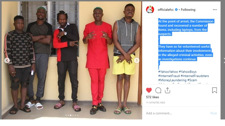 EFCC Parades Naira Marley, Zlatan Ibile Over Yahoo Fraud, Releases Photos & Statement 3