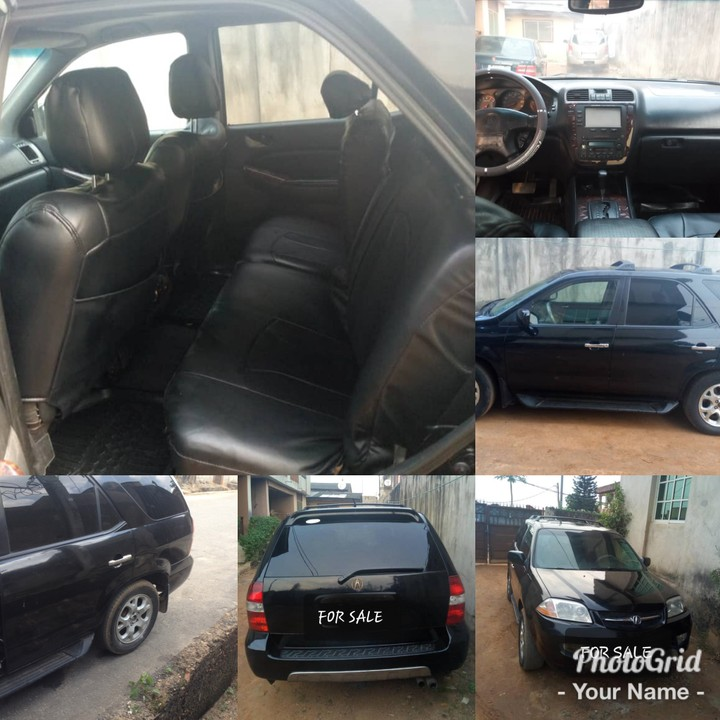 Wel Maintained Acura Mdx 01 For Sale @ 750k